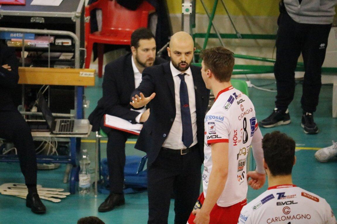Preparazione in vista della gara di Catania