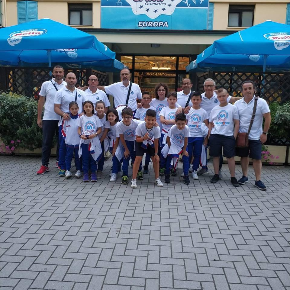 I piccoli atleti di Lucania Volley alle finali nazionali del CSI – U10 U12