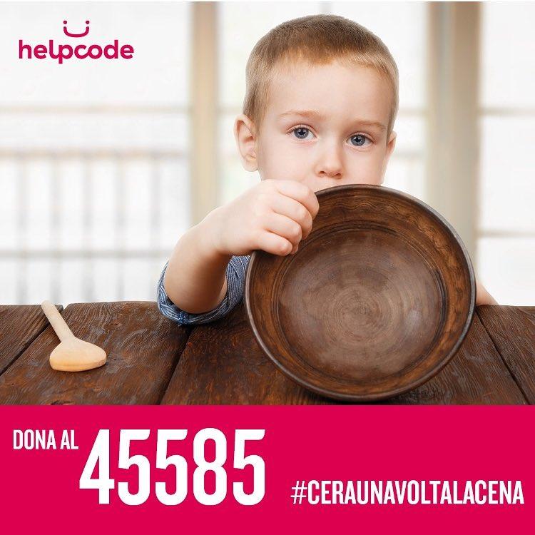 """La Serie A sostiene Helpcode e la campagna """"C'era una volta la cena"""". Numero solidale 45585 per garantire un'alimentazione adeguata ai bambini delle famiglie in povertà"""