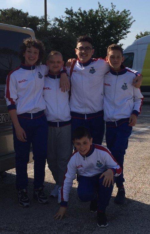 Lucania Volley alle finali nazionali U13M , forza ragazzi!