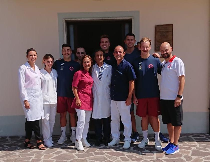 Visite mediche per gli atleti della Rinascita