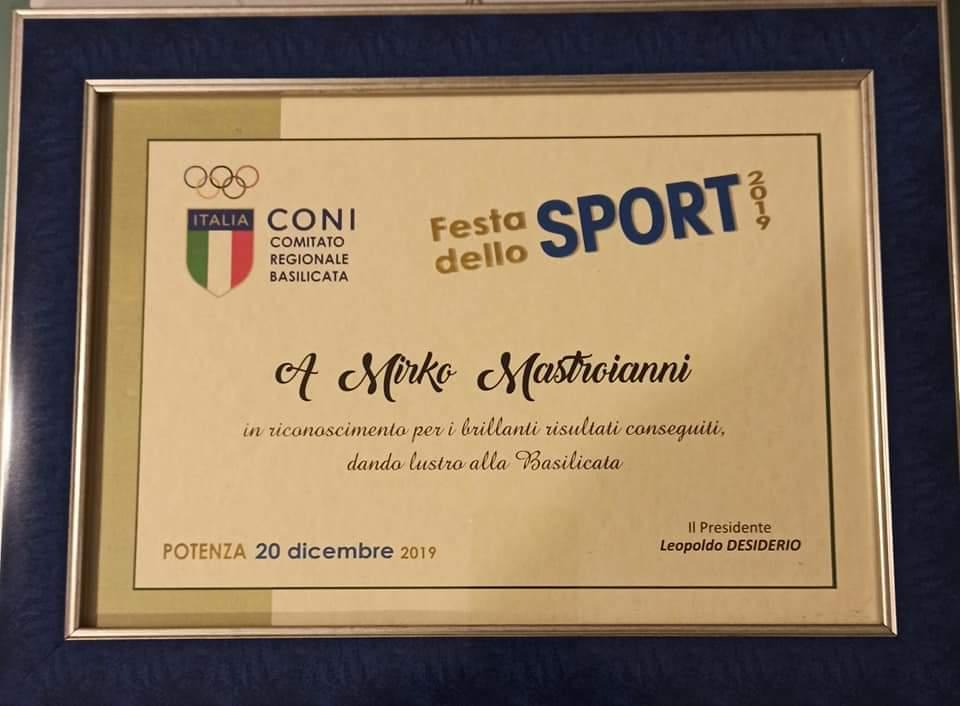 Galà dello sport 2019 – CSI Melfi: premiata anche Lucania Volley